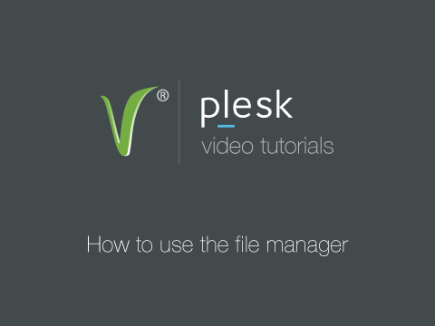 How to use the filemanager